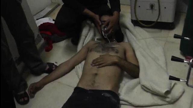 Poisonous Gas Attack Strikes Syrian Village