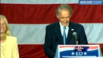 Uncut: Ed Markey's Victory speech