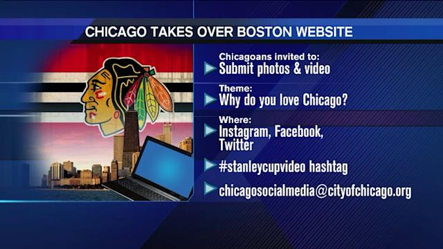 Chicago prepping `Stanley Cup video` for Boston website takeover