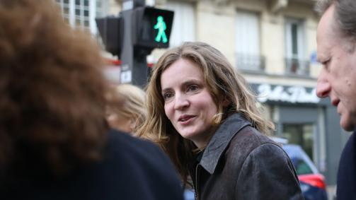 Municipales à Paris : NKM poursuit sa campagne et