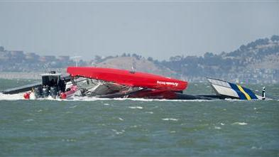 Official: America's Cup Nosedived During Sail