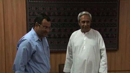 Cyrus Mistry meets Naveen, discusses investments in Odisha