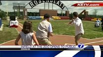 Mini ballpark pays tribute to Rosenblatt