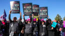 Womens March Activists Rally In Las Vegas, Vow To Bring Their Power To The Polls