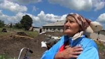 """When they jets fly over, we just pray to God"" -- civilian in east Ukraine"