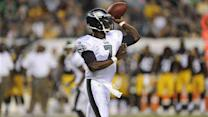 Eagles QB Michael Vick points at media for 'turmoil'