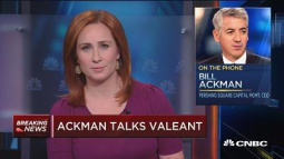 Bill Ackman: 'We made one very big mistake' with Valeant and lost big time