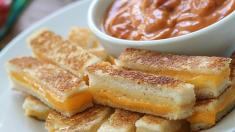 Mini Grilled Cheese!