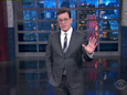 Stephen Colbert says he knows the real reason Trump fired James Comey