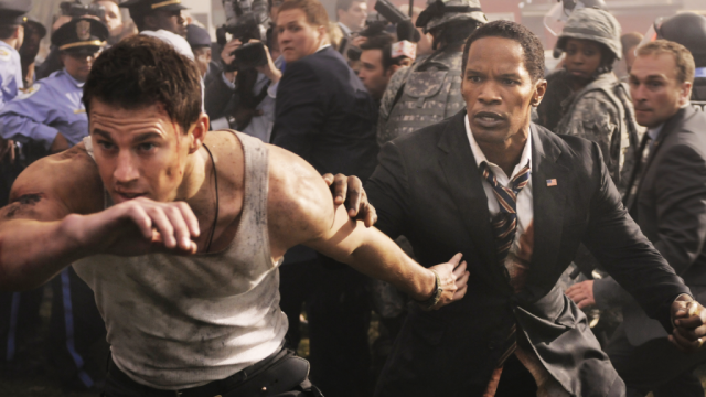 Channing Tatum and Jamie Foxx on White House Down