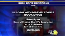 Reading With Marvel Comics Book Drive