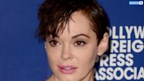 "Rose McGowan Chops Off Her Hair, Says She Looks Like ""Hitler's Stoned Cousin"""