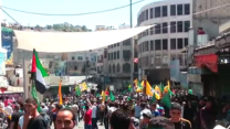 Dozens Injured in Violent Clashes During Hebron Rally