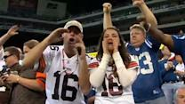 Browns Fans Happy For Win