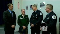 Good Samaritans Honored For Helping Cops