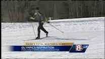 Olympic inspiration hits cross country skiers