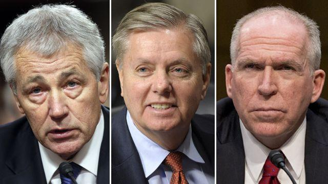Sen. Graham vows to block Pentagon, CIA nominees
