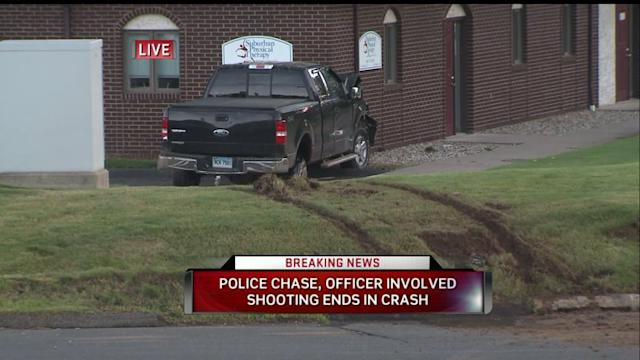 Erratic Driver Crashes Into Multiple Cars, Chase Ends In Police Shooting