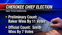 Cherokee Chief Election Overturned