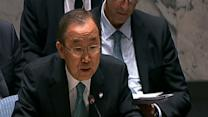 UN Secretary-General Urges Mideast Ceasefire