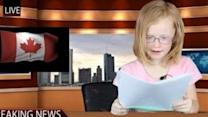 Kid Anchors Deliver Evening News