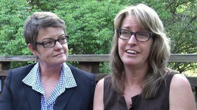 Gay couple: 'Full of joy' after Obama's remarks