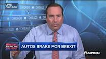 Autos brake for Brexit