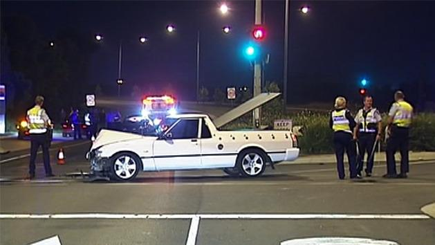 High speed chase in Melb