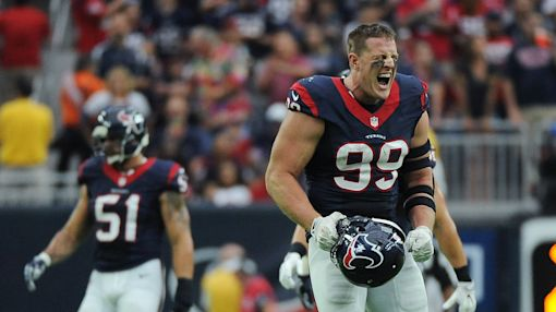 Texans' J.J. Watt headed to injured reserve after re-injuring back