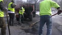 Pothole problems growing in Pennsylvania and New Jersey