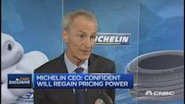 China slowdown is no surprise: Michelin CEO