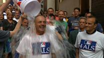 Manfred, Torre and MLB Take Ice Bucket Challenge