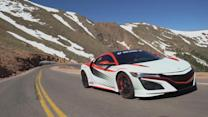Video Exclusive: Racing the 2016 Acura NSX Up a Mountain