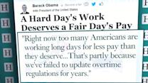 Obama to expand overtime pay eligibility for millions