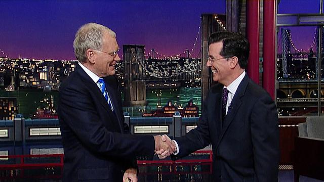 Stephen Colbert to host 'The Late Show': CBS