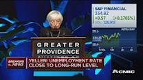 Yellen: Q1 slowdown largely transitory