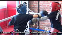 Robi On The Road: Haverhill Downtown Boxing Club Training Young Gentlemen