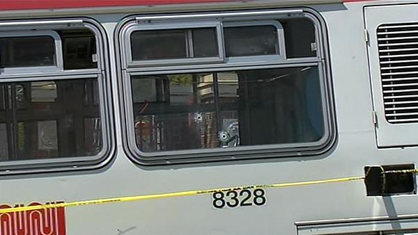 Man injured after 3 men open fire on Muni bus