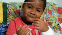 Little Boy Gets a Double Hand Transplant