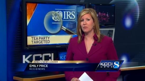 Iowa tea party official: We were an IRS target
