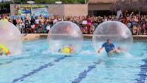 Water Ball Racing Is Wacky, Wild Way to Cool Down