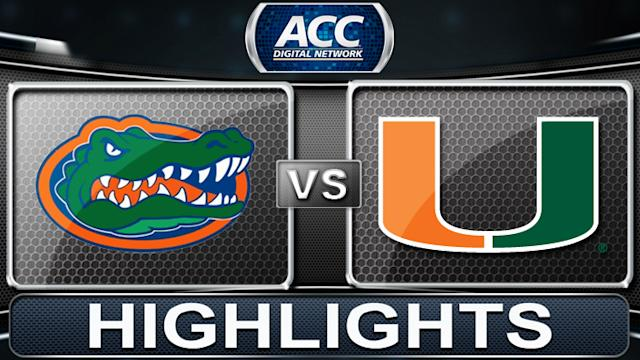 Florida vs Miami | 2013 ACC Football Highlights