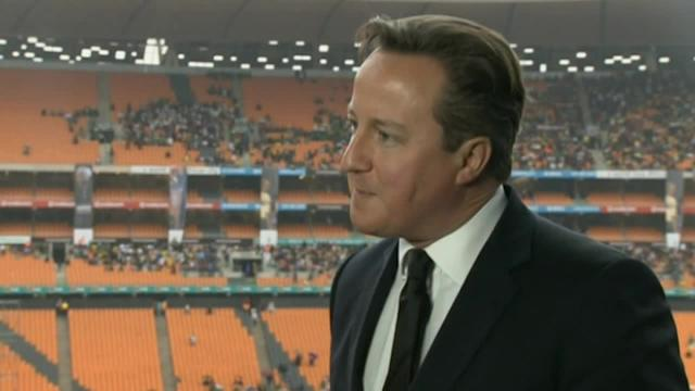 Mandela tributes: David Cameron and Nick Clegg pay respects