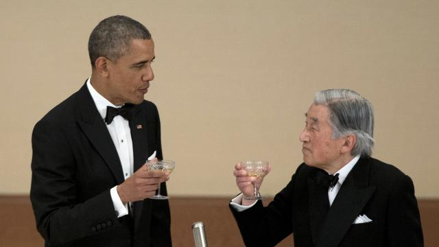 Obama reaffirms Japan commitment
