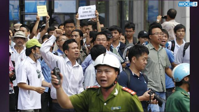 Oil Dispute Leads To Anti-China Violence In Vietnam