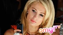 Paris Hilton auf der Fashion Week beschimpft