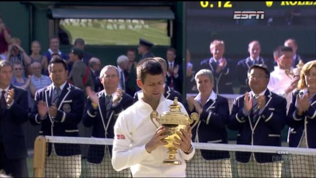 Victory at Wimbledon for Novak Djokovic