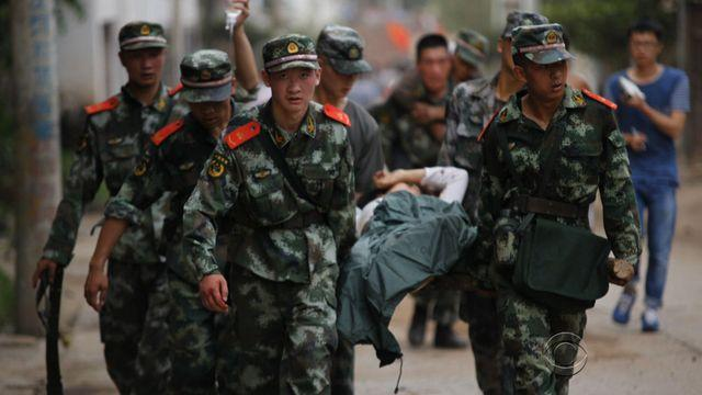 Massive earthquake claims at least 360 lives in China