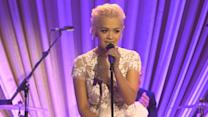 "Rita Ora performing ""Play"" from Finding Neverland"
