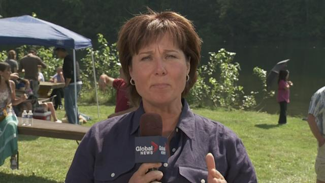 Extended: Christy Clark talks to the News Hour